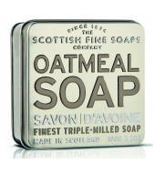 Scottish Fine Soaps Soap in a tin Oatmeal 100g