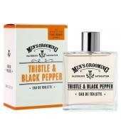Scottish Fine Soaps Eau De Toilette Thistle & Black Pepper 100ml