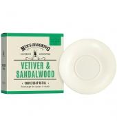 Scottish Fine Soaps Raseerimisseep refill Vetiveeria & Sandlipuu