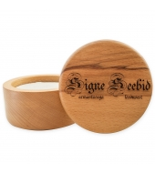 Signe Seebid Shaving soap in a wooden bowl