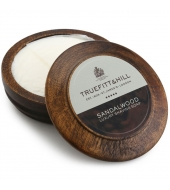 Truefitt & Hill shaving soap in a wooden bowl Sandalwood