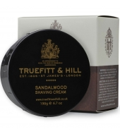 Truefitt & Hill Kрем для бритья Sandalwood 190g