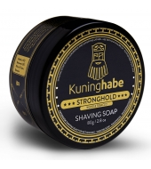 "Kuninghabe Shaving soap ""Stronghold"" Wood & Tobacco 80g"