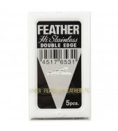 Feather razorblades