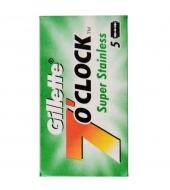 Gillette DE Blades 7 o´clock Super Stainless 5pcs