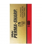 Gillette DE Blades Perma-Sharp 5pcs